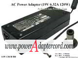 19V 6.32A Barrel 5.5/2.5mm 3-Prong ADP-120ZB BB NEW Power AC Adapter