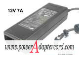 12V 7A Barrel 5.5/2.5mm IEC C14 FSP084-DMAA1 NEW Power AC Adapter