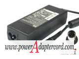19V 4.74A 90W Barrel 7.4/5.0mm 3-Prong NEW Power AC AdapterPA-1900-18HN 463955-001 453564-001