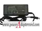 24V 1A Barrel 5.5/2.1mm 2-Prong HS-2400100 NEW Power AC Adapter