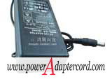 24V 4A Barrel 5.5/2.1mm 3-Prong New JG2404A NEW Power AC Adapter