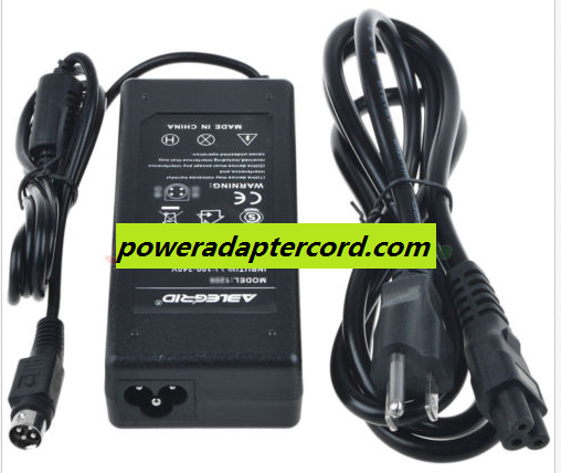 Cyberhome CH-HGL1710 CHHGL1710 LCD TV For 4-Pin AC Adapter Power Supply Cord PSU