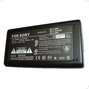AC Adapter for Sony AC-L100 AC-L200 8.4V 1.5A fits Handycam CCD-TRV DCR-TRV DCR-TRV240 DCR-TRV280 DCR-PC100 HD