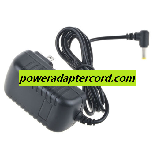 100% Brand New! Power Supply Charger AC/DC Adapter For Coby TF DVD8107 TF-DVD8107 Portable DVD