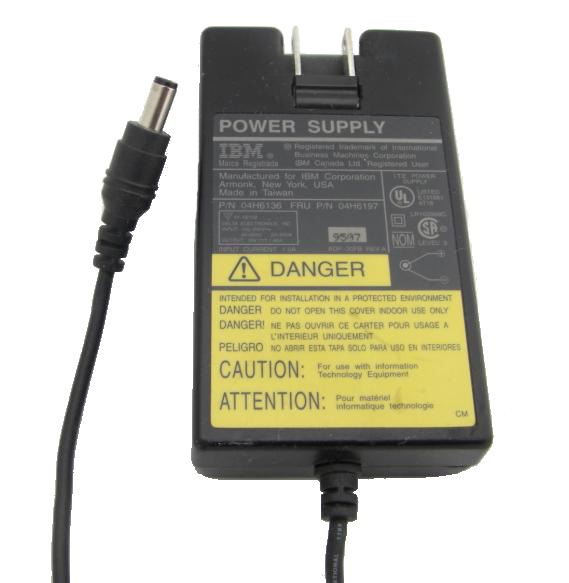 IBM Genuine Original 04H6136 04H6163 AC Adapter 16V 1.88A For 04H6197 ADP-30FB Power Supply Charger