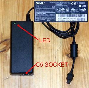 Genuine DELL ADP-50SB AC Adapter 19V 2.64A Laptop Power Supply Adaptor Charger