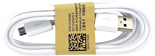 10 PCS Samsung Micro USB Data Cable for Galaxy S3/S4/Note 2 & Other Smartphones - Non-Retail Packaging - White