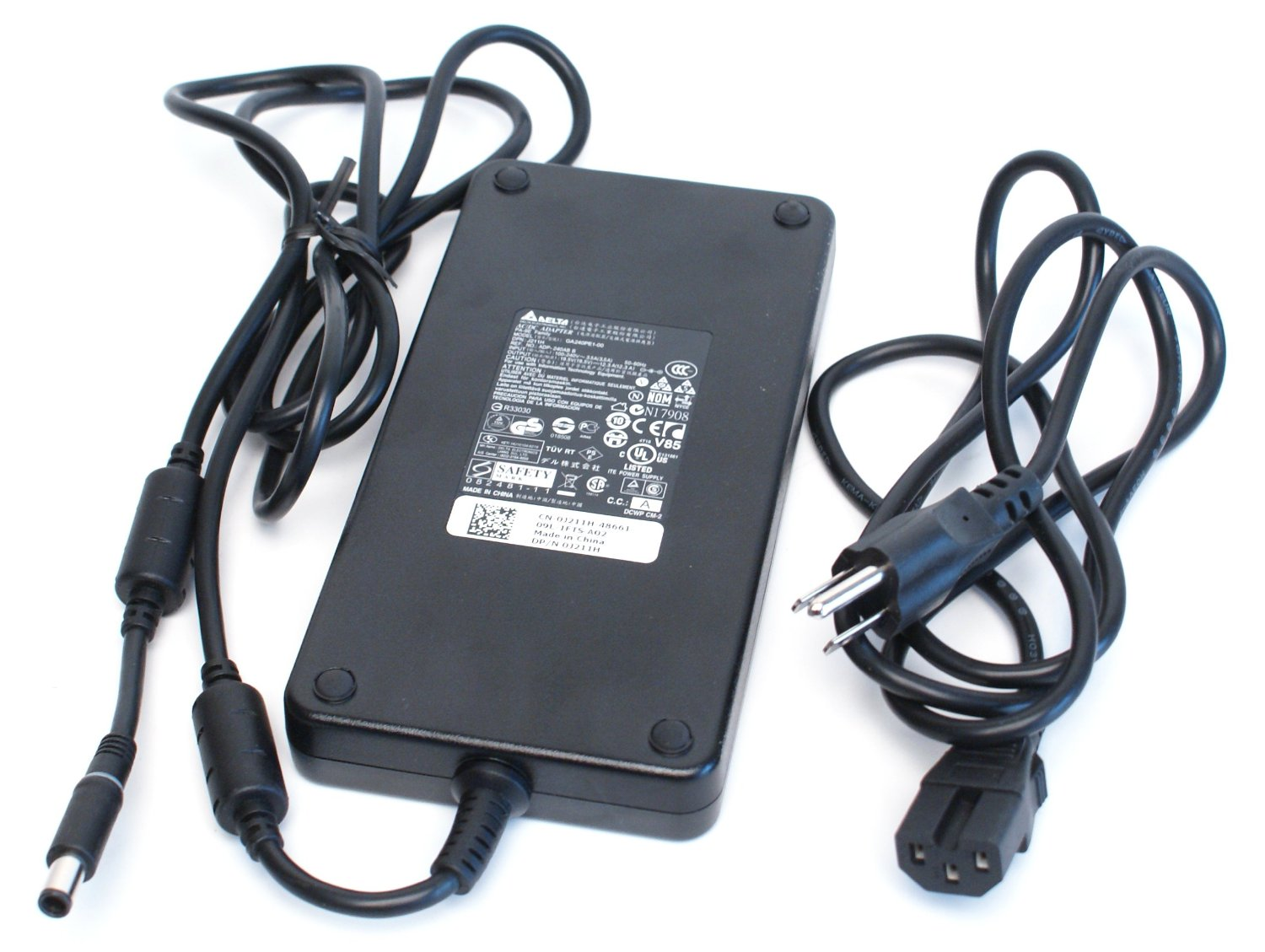 19.5v 12.3a Dell GA240PE1-00, ADP-240AB B 240-Watt Family AC Power Adapter